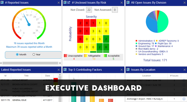 Risk Management Dashboard By SMS Pro