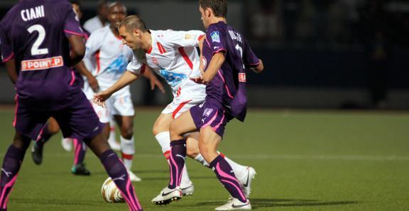 Contre Bordeaux en coupe de la Ligue