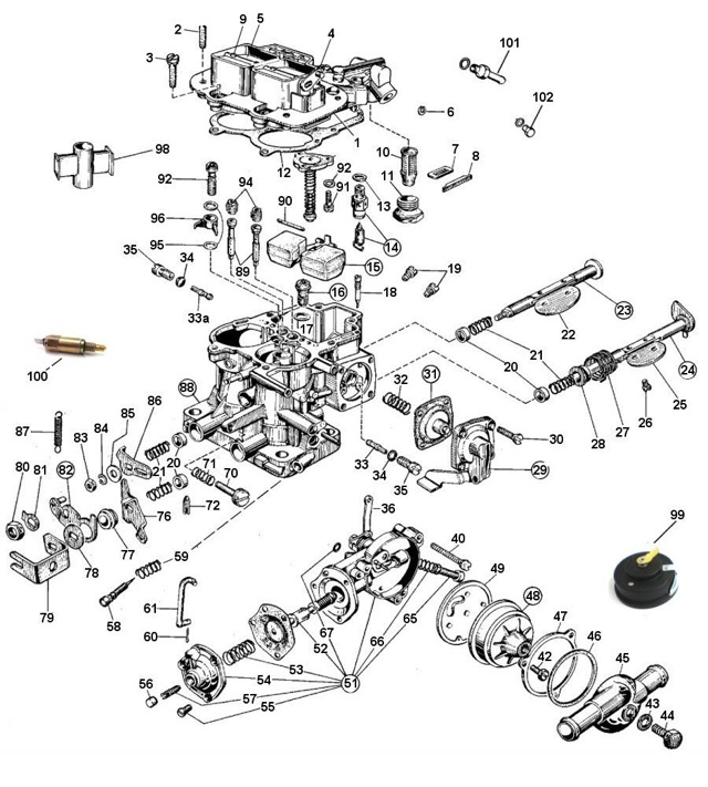 Weber 32/36 DGV DGEV DGAV Tuning : How-To Library : The MG