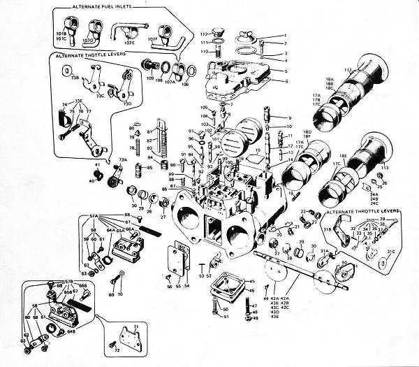 Weber 45 DCOE Carburetor Setup : How-To Library : The MG