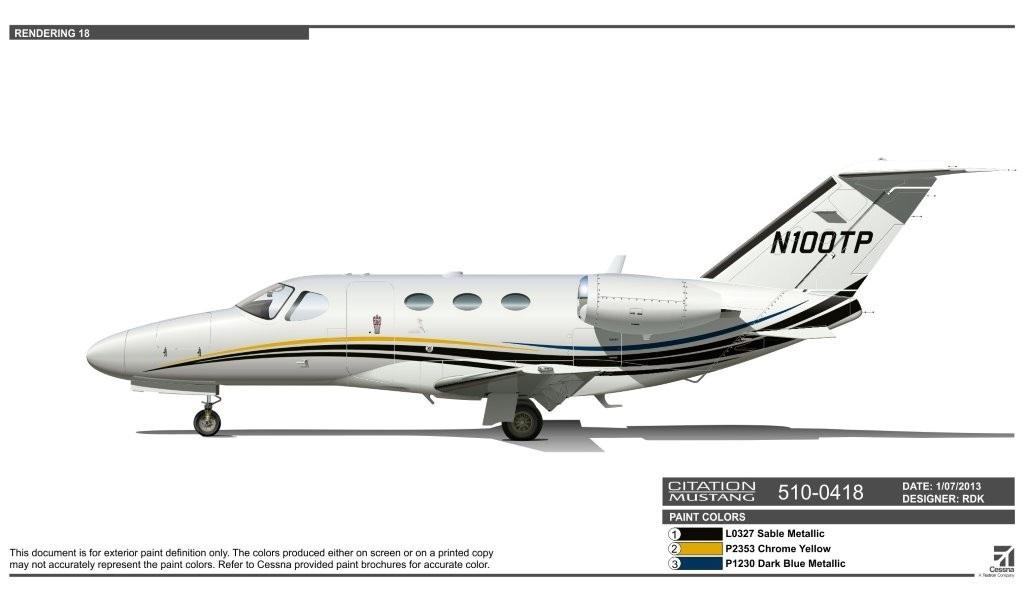 2012 Cessna Citation Mustang 510-0418 N100TP for Sale
