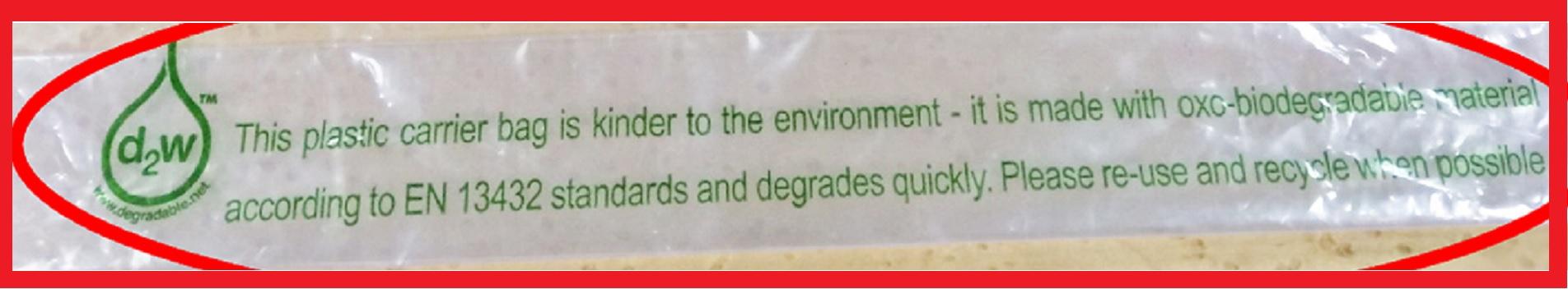 Mal uso de la norma europea de compostabilidad EN 13432