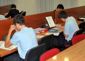 Sala de estudio de los mayores
