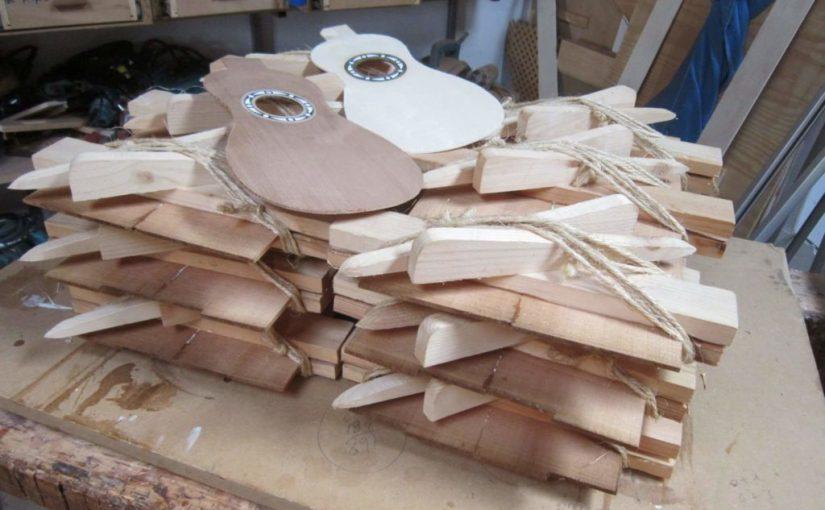 Proceso y elaboración de un timple.