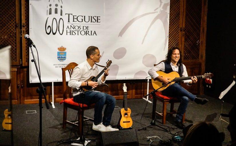 Concierto de Germán López y Yuniel Rascón para cerrar la jornada del sábado en 'Timpleteando'