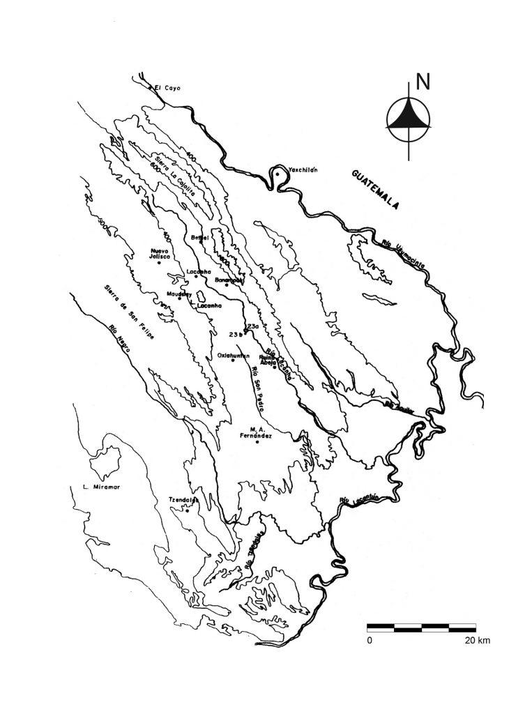 » 19 Extensión y delimitación del asentamiento