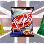 British Snacks found online - Quavers, Twiglets, Walkers Crisps