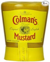 Colman's Mustard in the squeeze container - available on Amazon!