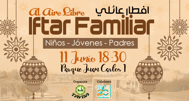 IFTAR FAMILIAR AL AIRE LIBRE