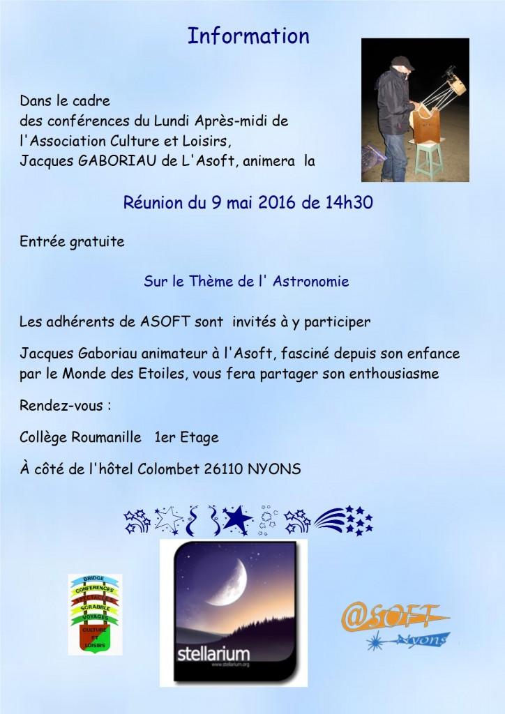 2016 Conférence JPEG  Astronomie Jacques Gaboriau 1