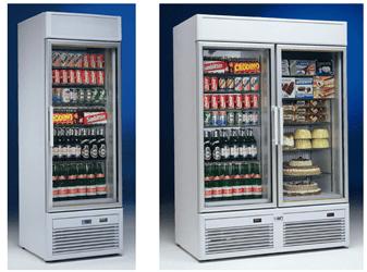 Koel Kast Glazen Deuren Asogem Equipment Realisatie Van