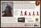 Lannister Heroes 1 Back of Box