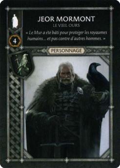 Jeor Mormont - Le Vieil Ours (Recto) FR