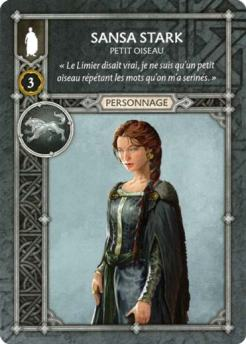 Sansa Stark - Petit Oiseau (Recto) FR