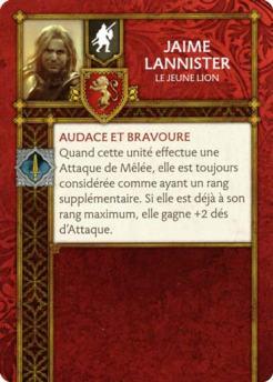 Jaime Lannister - Le Jeune Lion (Verso) FR
