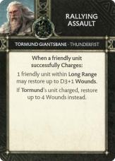 Tormund Giantsbane - Thunderfist - Rallying Assault