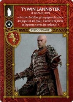 Tywin Lannister - Le Grand Lion (Recto) FR