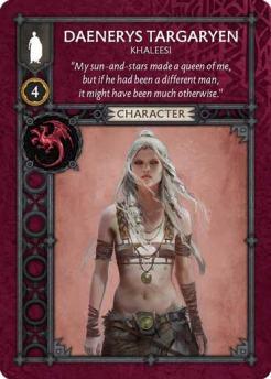 Daenerys Targaryen - Khaleesi (Recto) US