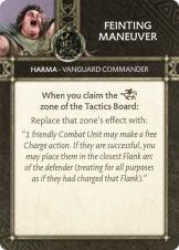 Harma - Vanguard Commander Feinting Maneuver