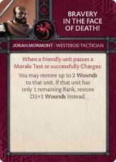 Jorah Mormont - Westerosi Tactician - Bravery In The Face Of Death!