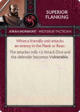 Jorah Mormont - Westerosi Tactician - Superior Flanking