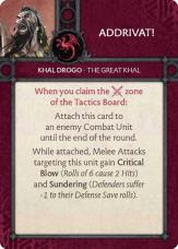 Khal Drogo - The Great Khal - Addrivat!