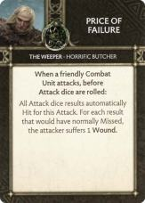 The Weeper - Horrific Butcher - Price Of Failure