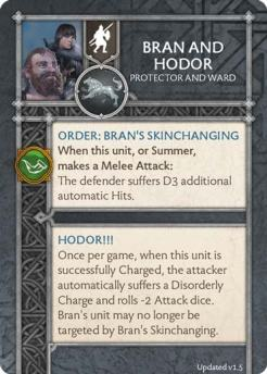 Bran And Hodor - Protector And Ward (Verso) 1.5 US