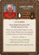 Lord Varys - The Spider (Verso) 1.3 US