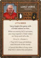 Lord Varys - The Spider (Verso) 1.5 US