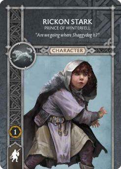 Rickon Stark - Prince Of Winterfell (Recto) 1.5 US
