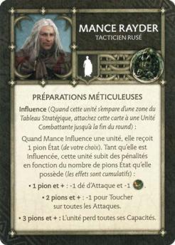 Mance Rayder - Tacticien Rusé (Verso) FR