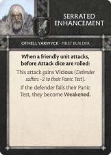 Othell Yarwyck - First Builder Serrated Enhancement