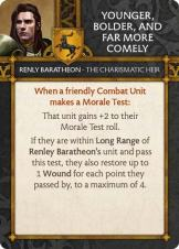 Renly Baratheon - The Charismatic Heir Younger, Bolder, And Far More Comely