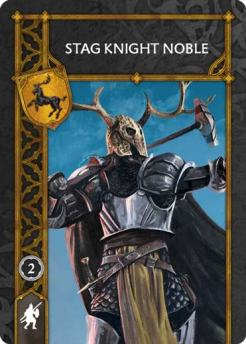 Stag Knight Noble (Recto) US