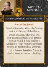 Stannis Baratheon - The Rightful Heir Tactical Approach