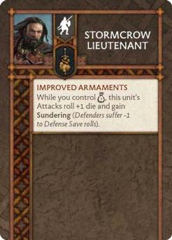 Stormcrow Lieutenant (Verso) US