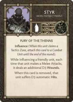 Styr - Iron-Fisted Tyrant (Verso) US