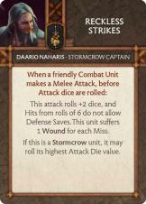 Daario Naharis - Stormcrow Captain Reckless Strikes