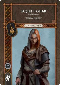 Jaqen H'Ghar - Unnamed (Recto) US