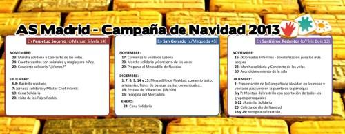 Actividades AS Madrid - Clic para ampliar