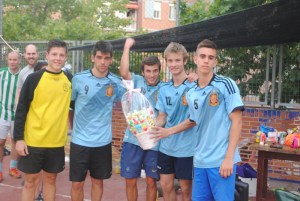 Ganadores del torneo 'Loz Patoz' (Foto: Sara Rojo)