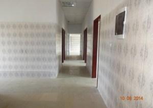 Interior del laboratorio de Mbanza Ngungu