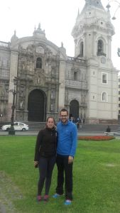 Alberto y Yolanda, voluntarios AS en Perú