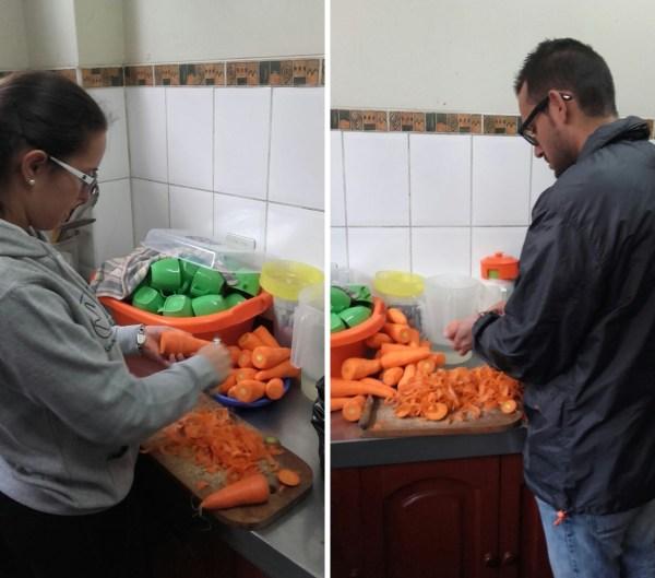 Yolanda y Alberto, de 'cocinillas' en Perú