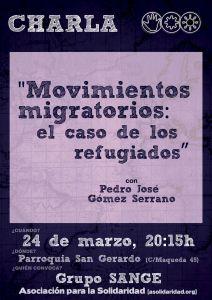 charla movimientos migratorios refugiados