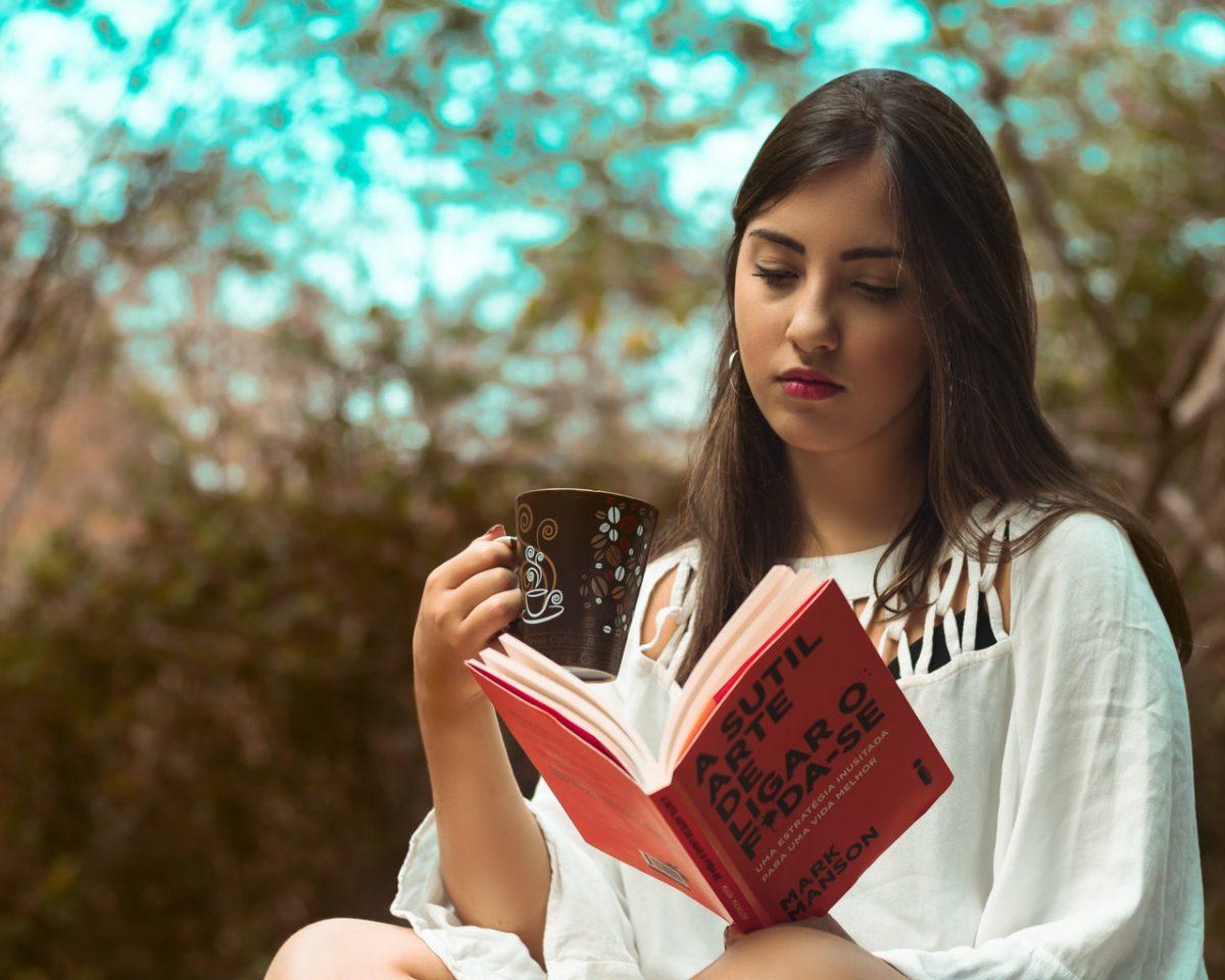 Quando nada der certo, abra um livro