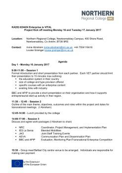 Enterprise is VITAL Kick-off Meeting Agenda_001