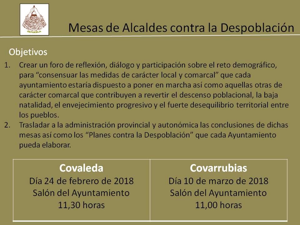 Repuebla convoca una mesa de alcaldes contra la despoblación este sábado en Covaleda