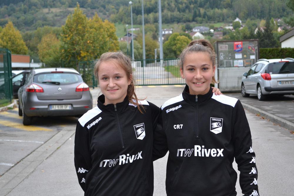 Detection de nos joueuses U18 Féminine